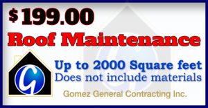 Roofing Maintenance Coupon