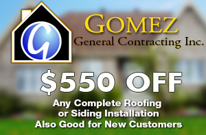 $550 off Roofing Coupon