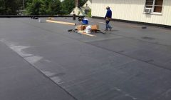 flat roofing repair and replacement